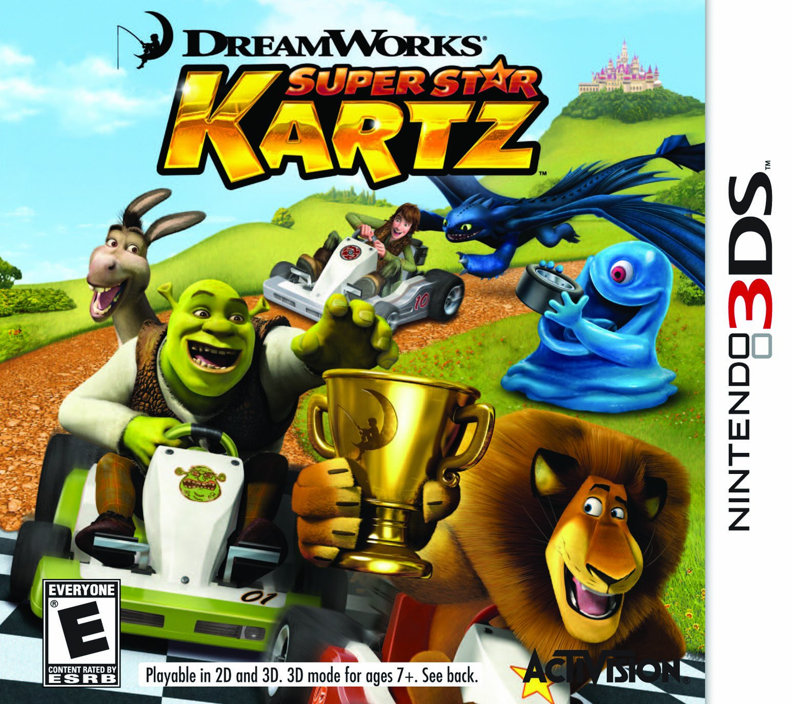 Dreamworks Super Star Kartz - Nintendo 3DS