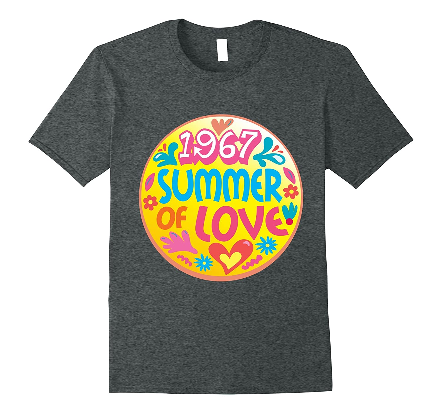 1967 Summer of Love T-shirt - Hippie Flower Child T-shirt-PL
