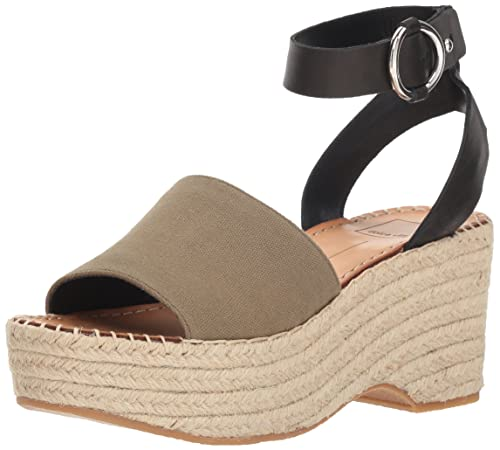 a225845107a Dolce Vita Women's Lesly Wedge Sandals: Amazon.ca: Shoes & Handbags