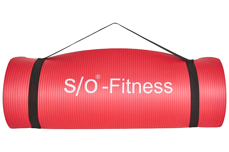 Esterilla de yoga de S/O® en 6 colores, 190 x 60 x 1,5 cm, esterilla para gimnasia, Pilates y fitness, sin sustancias nocivas y aislante