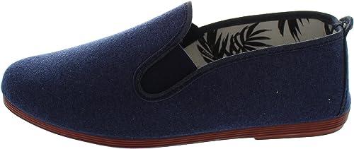 Flossy Carmona - Mocasines de tela para mujer azul azul, color azul, talla 38: Amazon.es: Zapatos y complementos