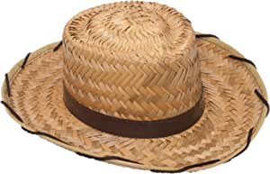 Jacobson Hat Company Child's Cocoa Straw Cowboy