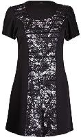 Womens Plus Size Floral Print Ladies Short Sleeve Gather Ruffle Long T-Shirt Top