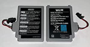 3.7V 1500mAh Battery Pack for Nintendo Wii U Gamepad WUP-012, WUP-010