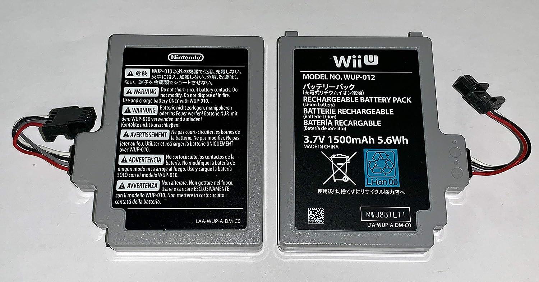 Bateria 3.7v 1500mah Nintendo Wii U Gamepad Wup-012 Wup-010