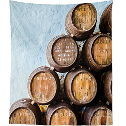 Westlake Art - Barrel Barrels - Wall Hanging Tapestry - Picture Photography Artwork Home Decor Living