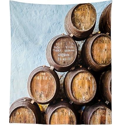 Westlake Art - Barrel Barrels - Wall Hanging Tapestry - Picture Photography Artwork Home Decor Living
