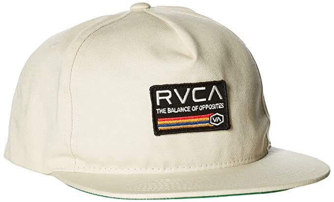 d02aaaad RVCA Men's Mechanics Snapback Hat, Silver Bleach, One Size: Amazon ...