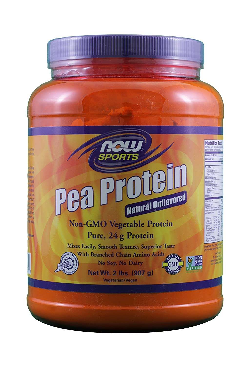 Now Foods Pea Protein Unflavored 2 Pack