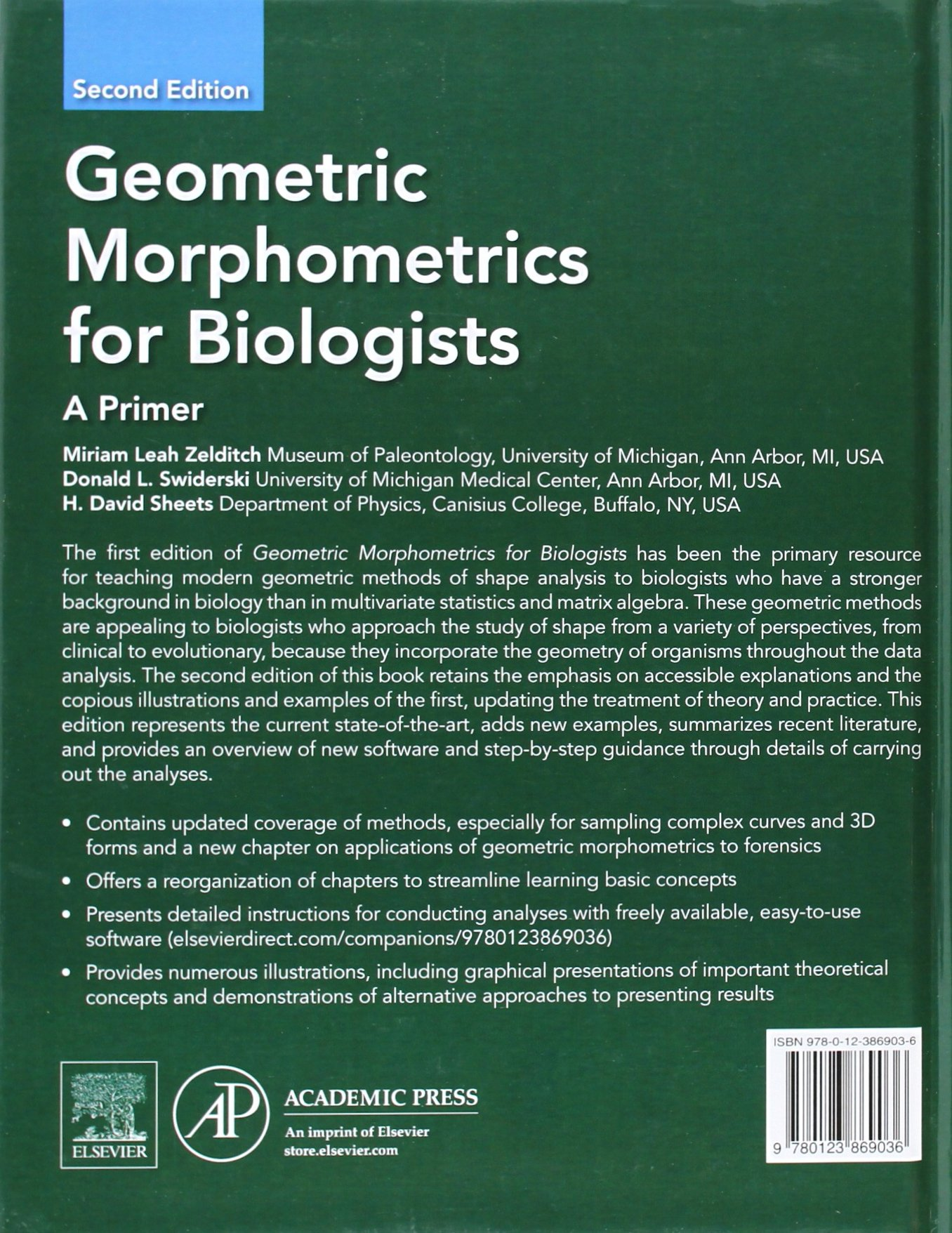 Geometric Morphometrics for Biologists: A Primer: Amazon.es: Miriam ...