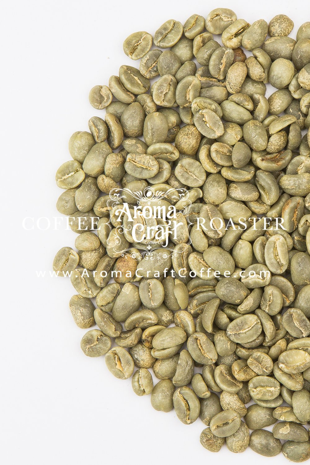 Colombian Narino Supremo Unroasted Green Coffee Beans Caturra WASHED (5 lb) by Aroma Craft Coffee