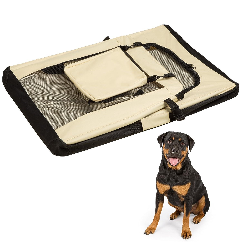 M | No. 401038 disponibili in diverse misure TecTake TecTake BORSA PER CANE BOX GABBIA PIEGHEVOLE AUTO TRASPORTINO DA AEREO ANIMALI