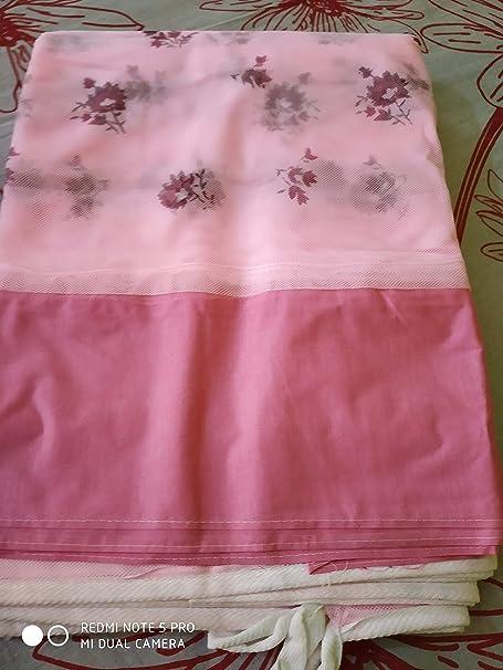 shri ashu creation Superior Luxor Qualtiy Mosquito Net for Bed- (6 * 7 FEET) Pink