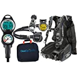 Cressi Ace Cold / Warm Water Scuba Diving Gear Package Assembled GUpG Reg Bag