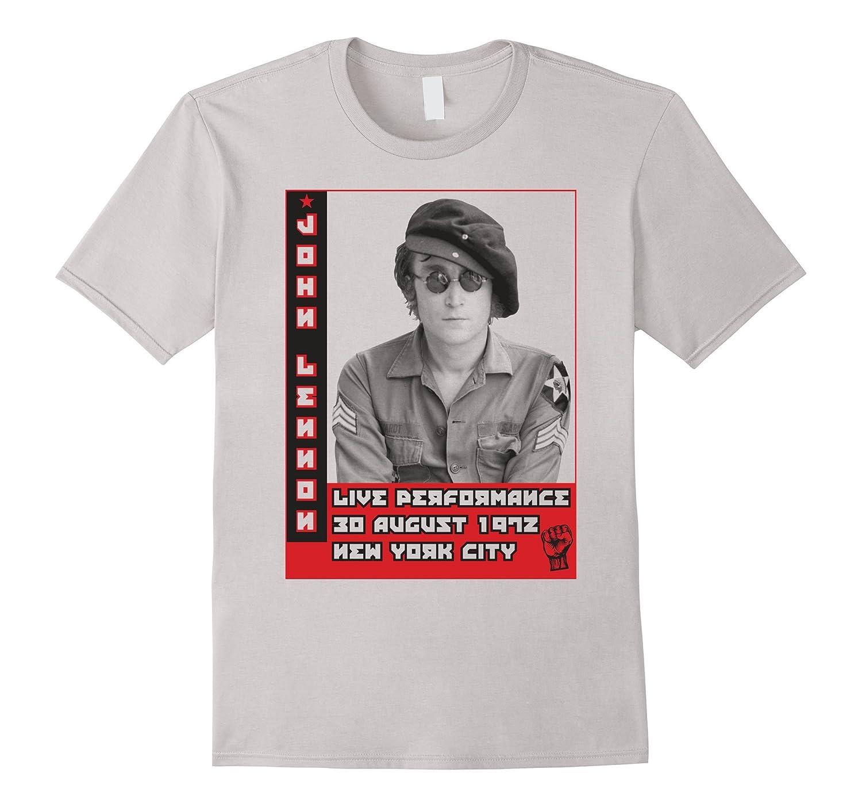 John Lennon - Live Performance 1972 T-Shirt-TH
