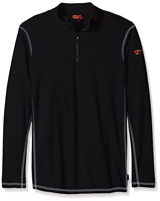 db939469d93 Ariat Men s Big and Tall Flame Resistant Polartec 1 4 Zip Baselayer   Amazon.ca  Clothing   Accessories