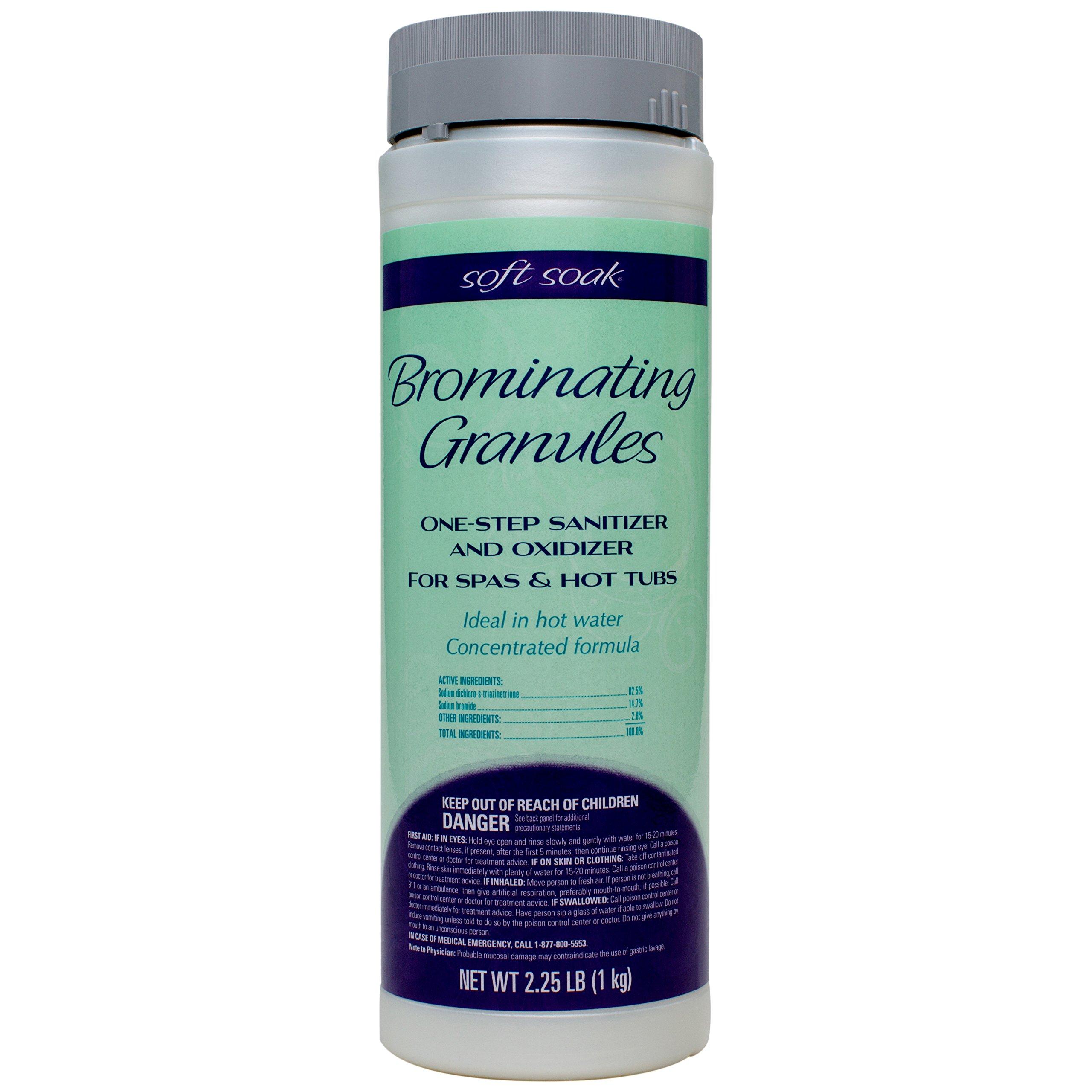SpaGuard Soft Soak Brominating Granules 2.25# by SpaGuard