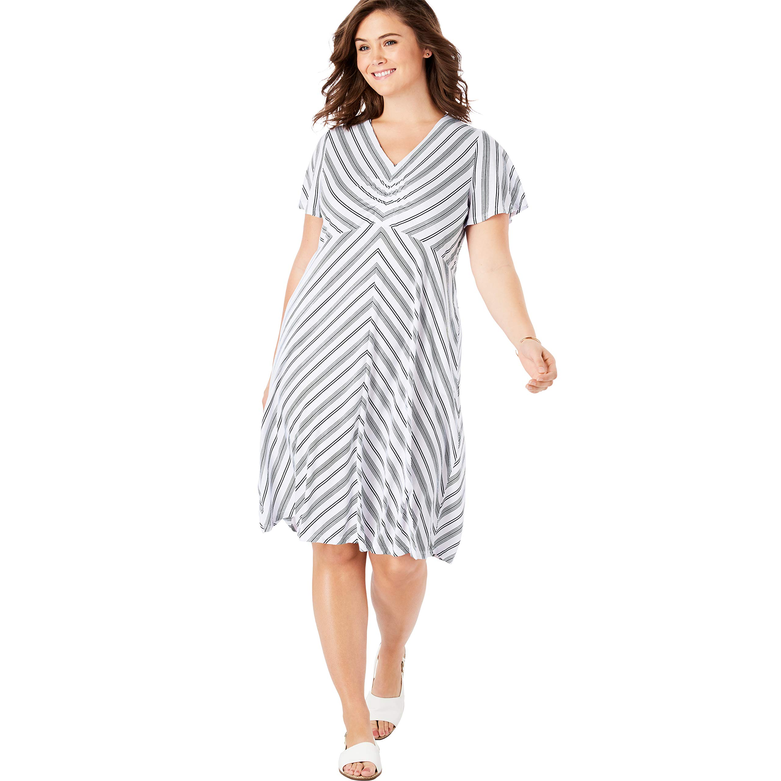 05ba6d37ff4 Amazon.com  Woman Within  Dresses