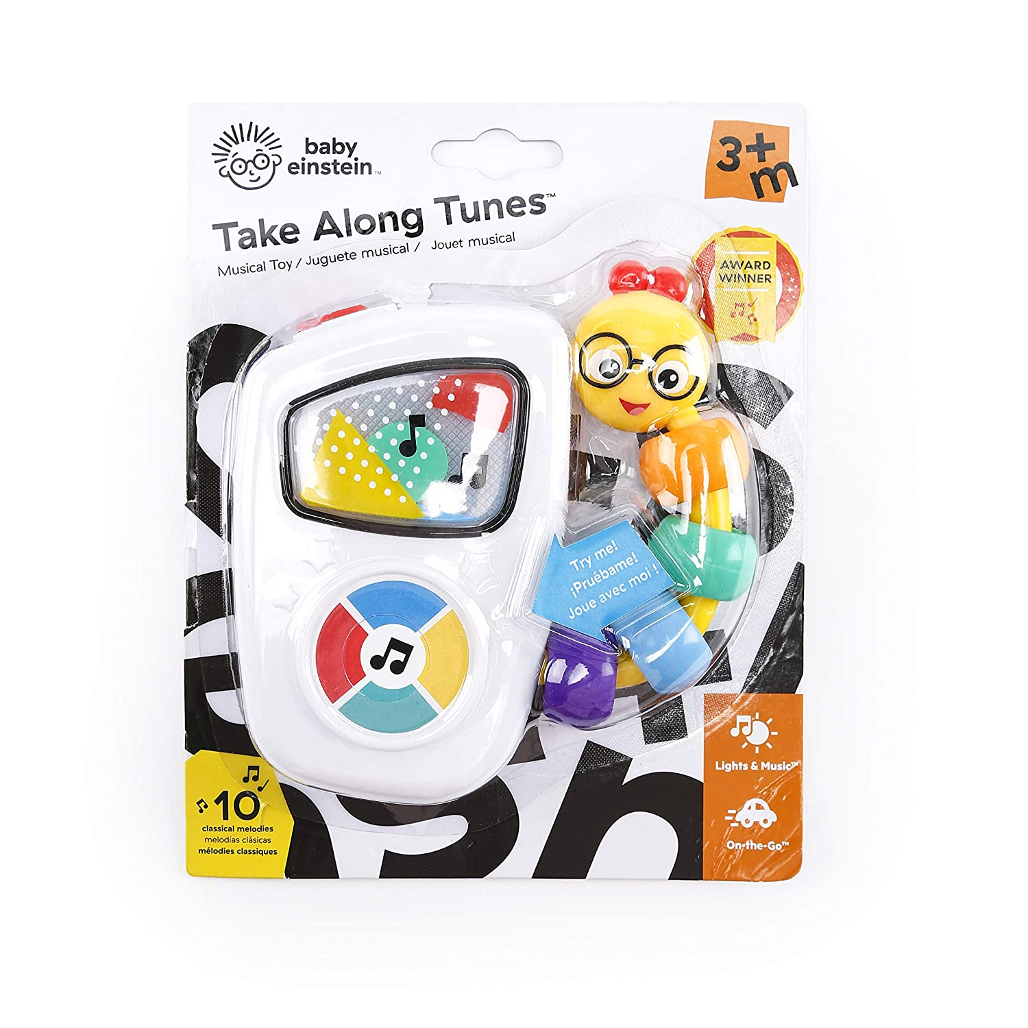 Baby Einstein Take Along Tunes Musical Toy Ages 3 months