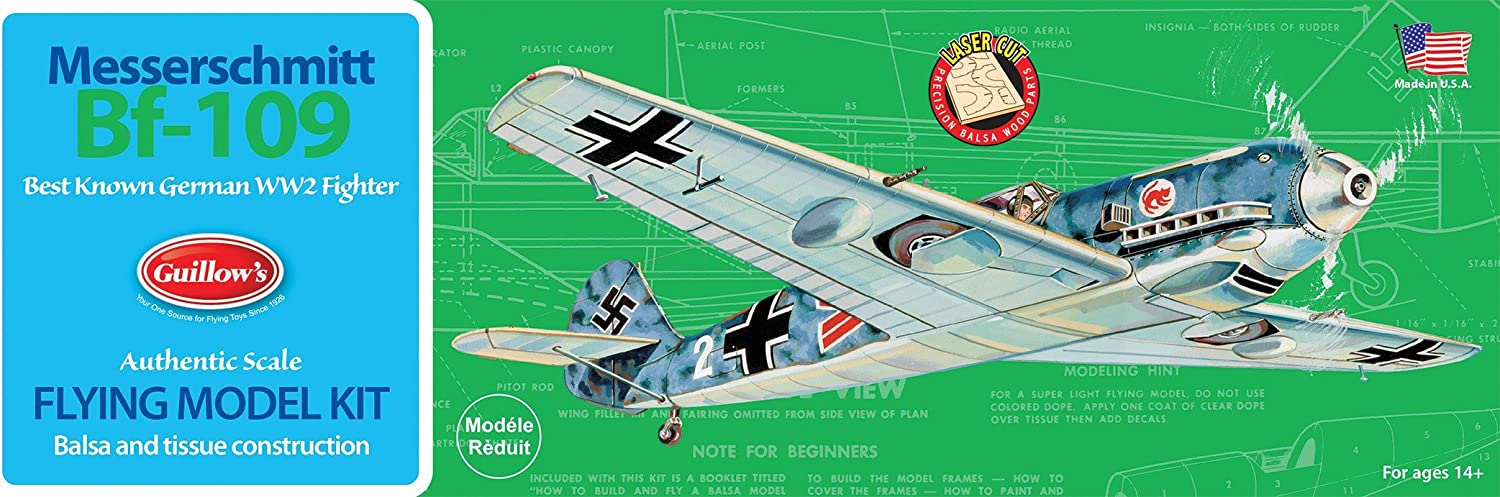 Guillow's Messerschmitt Bf-109 Model Kit