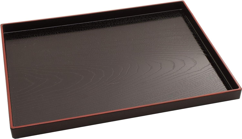 Tea Tray,Wood Grain Tray, Japanese Traditional Serving Tray,Japanese Food Tray,Soba Udon