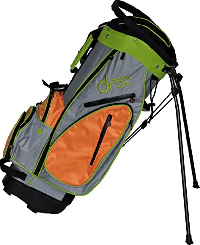 droc – Dimond Golf Bag Age 10-13 Orange_Lime, 30 Age 11-14 Gray_Lime, 32