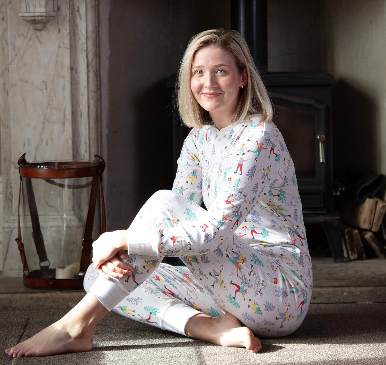 Piccalilly Pijama algodón orgánico para Mujer: Amazon.es: Ropa y ...