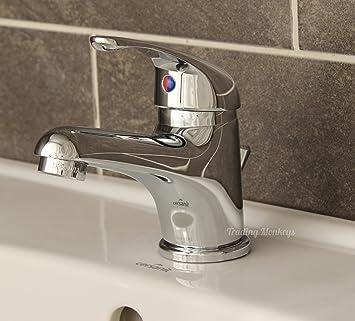 Einhebel Waschtisch Mischer Mit Zugstange Und Waschbecken