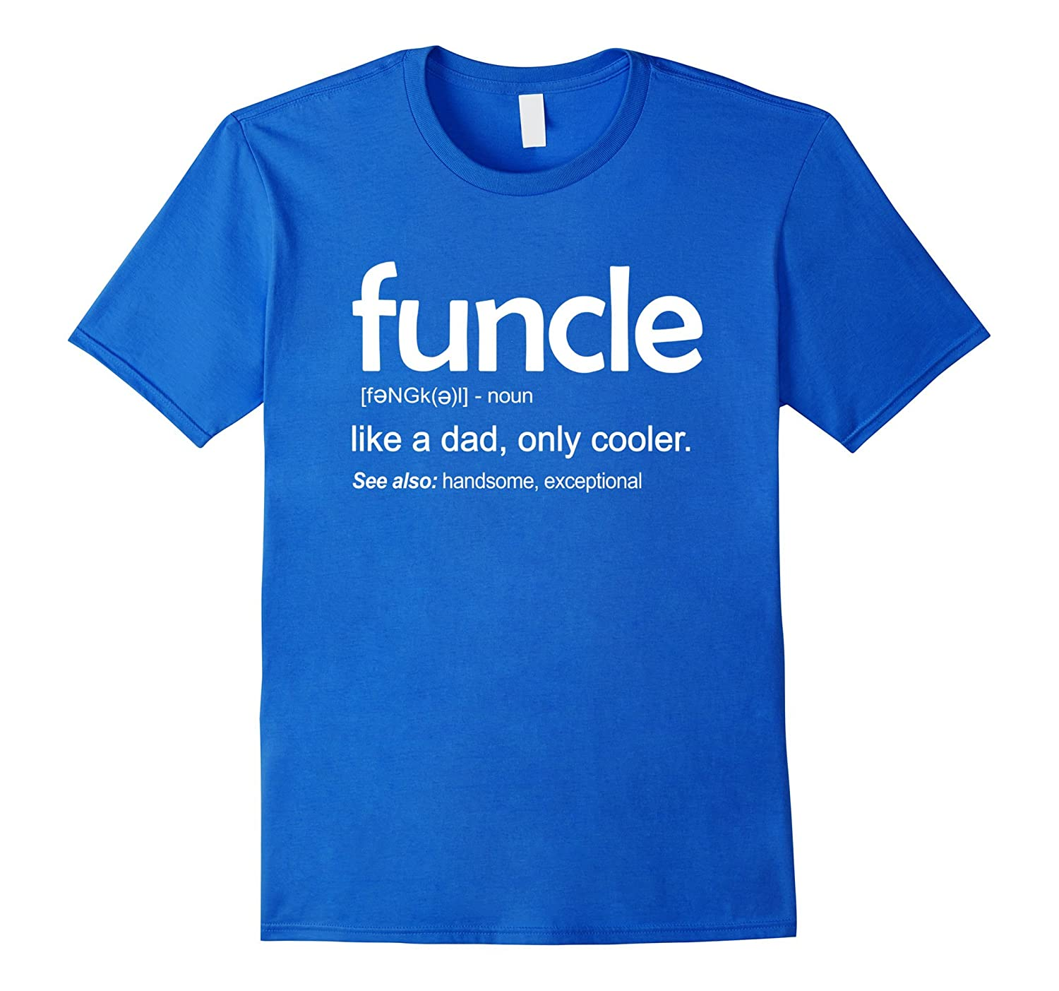 d8e45463a Mens Mens Funcle Definition T-shirt Funny Gift For Uncle-T-Shirt ...