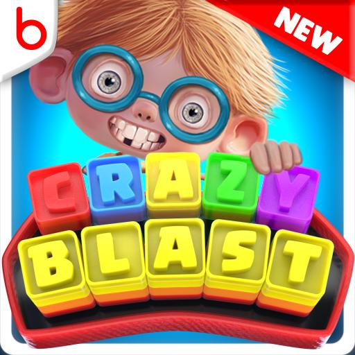 Toy Box Crazy Blast - toon crush - Graphic Ebony