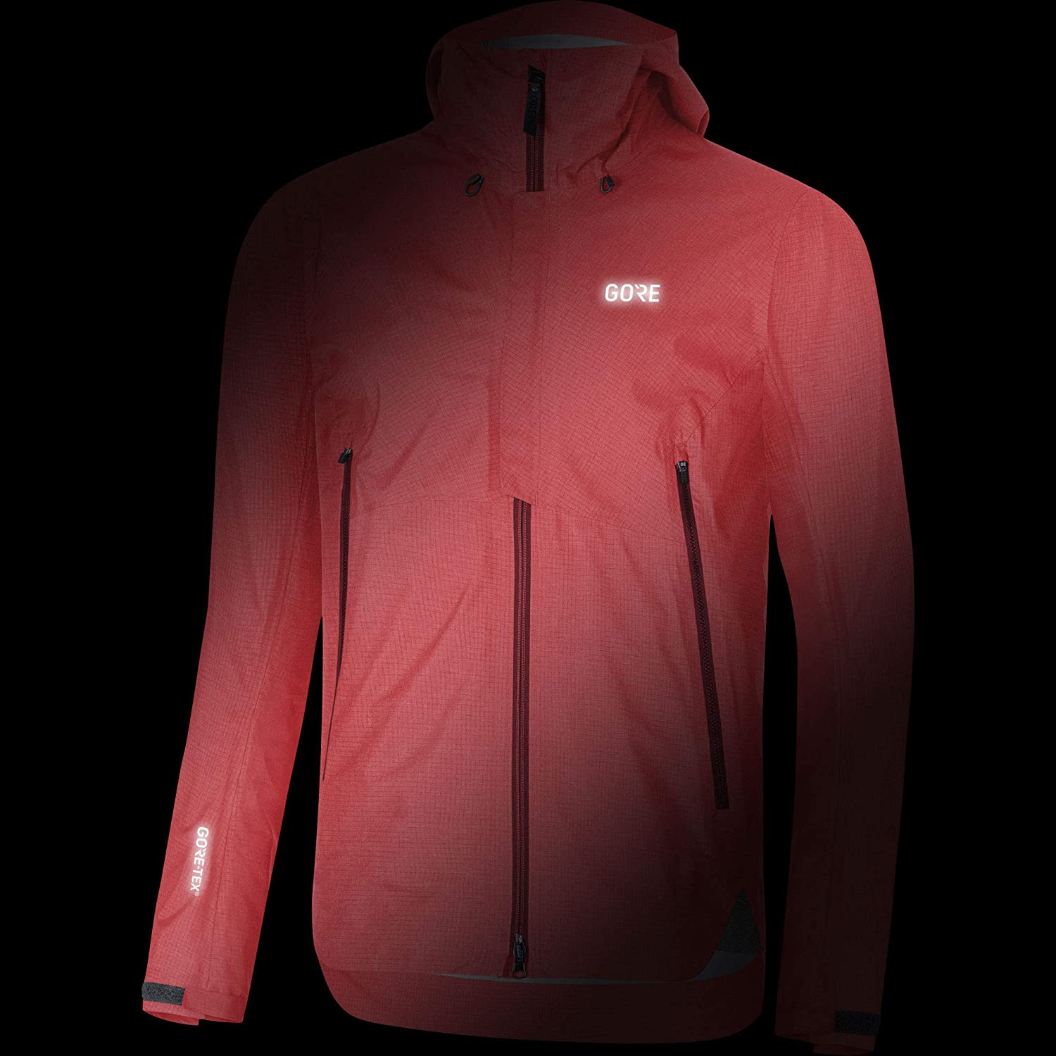 GORE Wear H5 Mens Hooded Hiking Jacket GORE-TEX Active