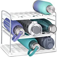 YouCopia 50243 UpSpace Water Bottle Organizer, 3 Shelf, White
