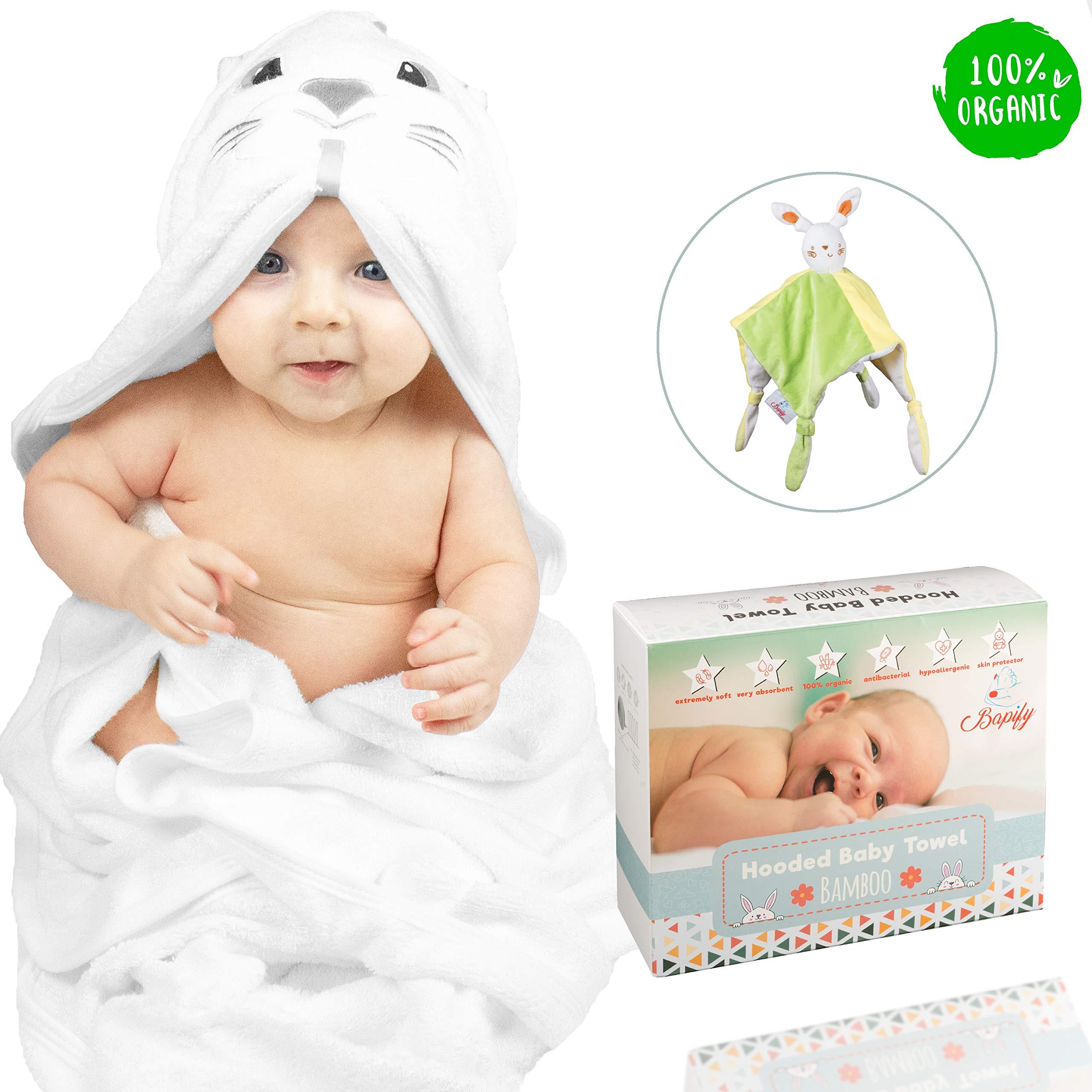 CUHAWUDBA Baby Bath Towels Muslin Washcloths,Super Soft and Absorbent 6 Layers 100/% Medical Grade Natural Cotton Gauze for Sensitive Skin and Babies Blue