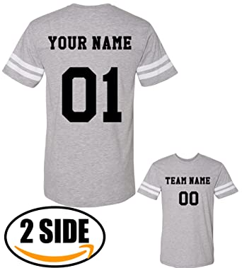 871f405cfb6 Amazon.com: TEEAMORE Men Custom Jersey, Add Your Text, Design Your ...