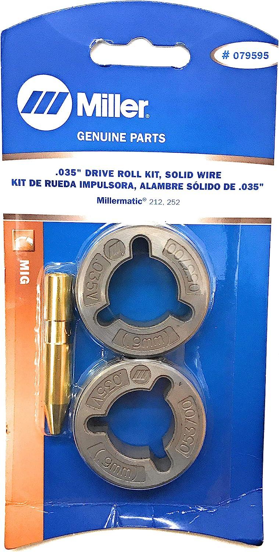 Miller 204579 Kit,Drive Roll .030.035 Combination V-Gr 2 Roll