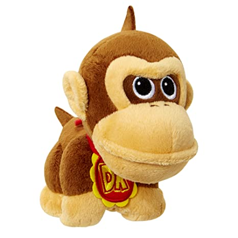 amazon com world of nintendo mario bros u baby donkey kong plush