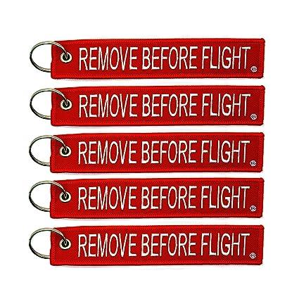 Amazon.com  5x Remove Before Flight Key Chain Aviation Truck ... db8f2f3cc