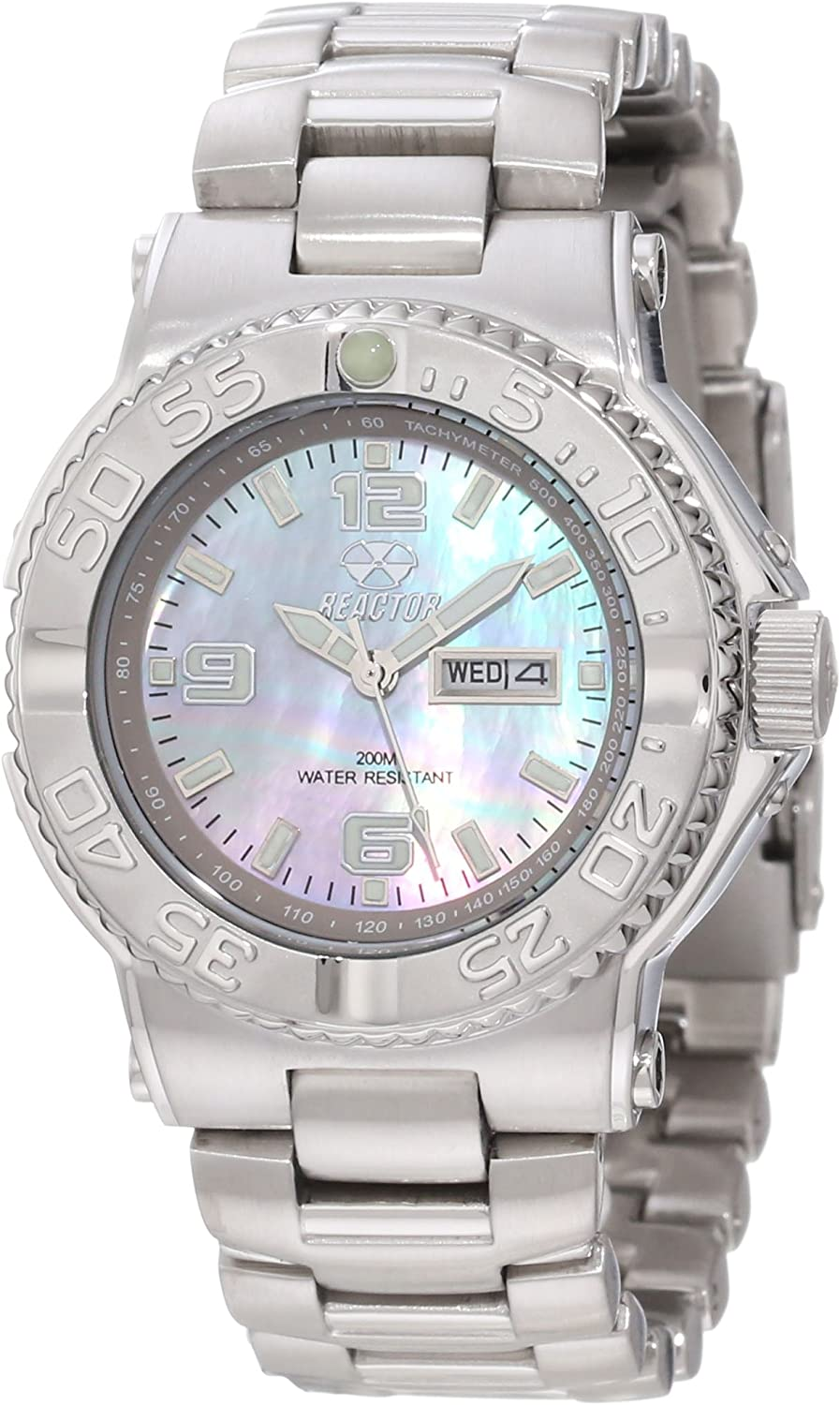 REACTOR Women s 77017 Classic Analog Mother-Of-Pearl Dial Watch