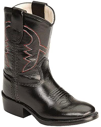 40ec076e1 Image Unavailable. Image not available for. Color  Old West Toddler-Girls  Cowboy  Boot Black ...