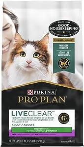 Purina Pro Plan LIVECLEAR Adult Indoor Formula Dry Cat Food - 5.5 lb. Bag