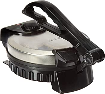 Brentwood TS-127 Stainless Steel Electric Tortilla Maker