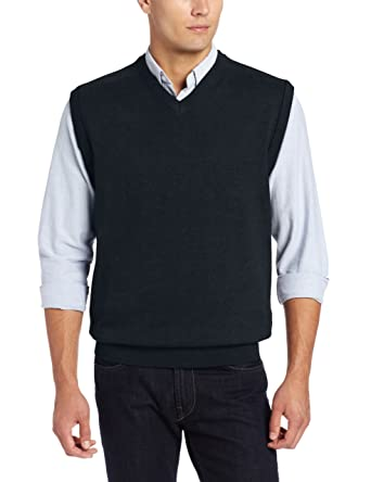 Cutter & Buck Men's Broadview Sweater Vest at Amazon Men's ...