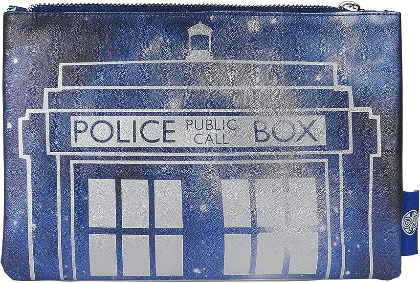 Cappello lavorato a maglia BBC ufficiale di LOVARZI Doctor Who Cappello di Natale TARDIS e Dalek