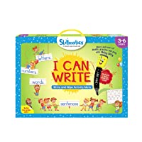 Skillmatics I Can Write (3-6 Years) | Reusable Activity Mats with 2 Dry Erase Markers | Learning Tools for Boys and Girls 3, 4, 5, 6 Years