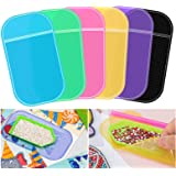 6 Pieces Anti-Slip Tools Sticky Mat for Diamond Painting, Non-Slip Universal Gel Pad Mount Holder Tools for Holding Tray…