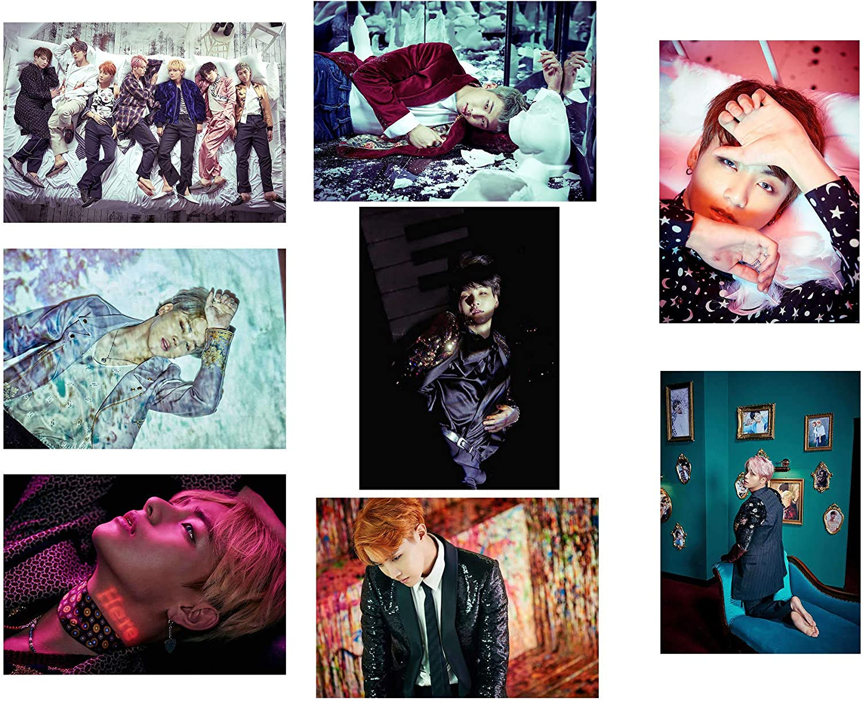 BTS Kpop Bangtan Boys Band Large Poster Art Print Gift A0 A1 A2 A3 A4 Maxi