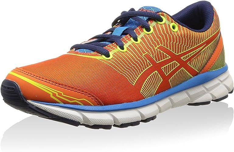 Asics Zapatillas Gel-Lyte33 3 GS Naranja/Azul/Amarillo EU 38: Amazon.es: Zapatos y complementos