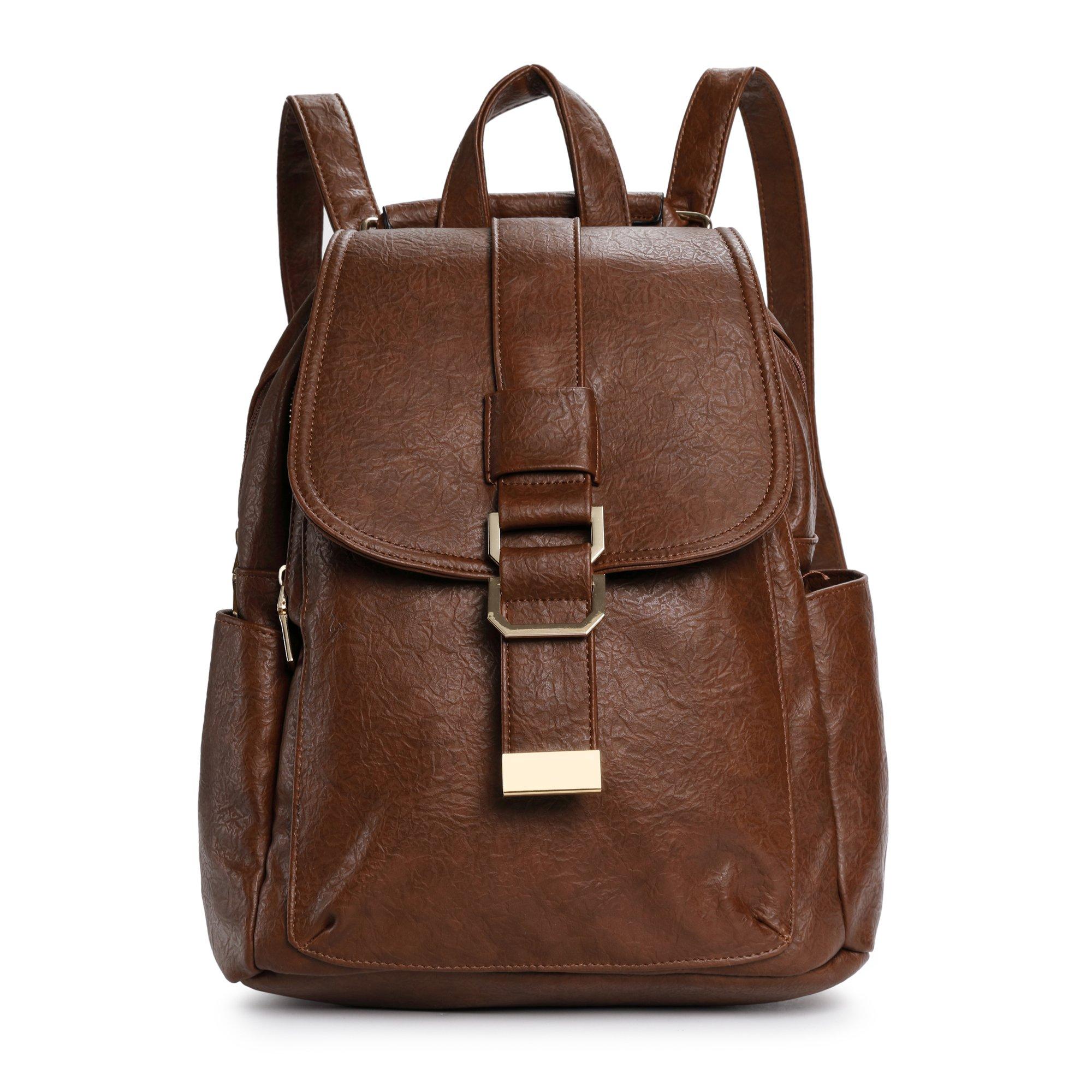 Leather Shoulder Handbag For Women Retro Crossbody Tote Top Handle Bag Hobo Bags For Ladies Office Work Camel