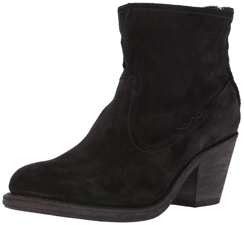 FRYE Women's Leslie Artisan Short Boot B01BLZ4K0S 7 B(M) US|Black Suede