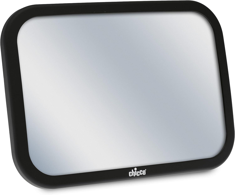 Chicco - Espejo Retrovisor delantero para el contacto visual trasero del niño, color negro